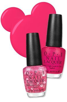 Minnie Mouse Nail Polishes  Opi