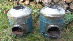 Rocket stove avec une bouteille de gaz: