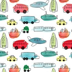 On The Move fabric by kelly_ventura on Spoonflower - custom fabric