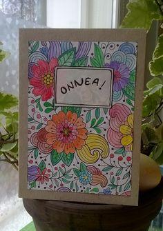 Väritetty kortti