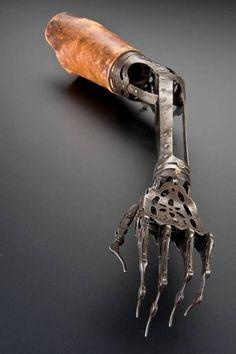 Victorian Prosthetic Arm..... how creepy...
