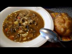 Houbový guláš - YouTube Chili, Food And Drink, Soup, Beef, Make It Yourself, Cooking, Health, Youtube, Foods