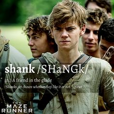 I always thought of shank as another word for idiot or jerk, but this works.