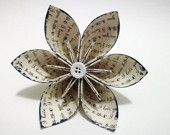 pretty paper flower