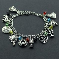 This amazing Beauty and the beast charm bracelet is charming people all over the world