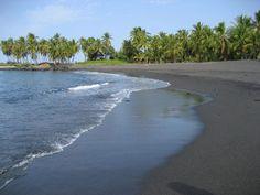 3. Honomalino Beach, Hawaii Island