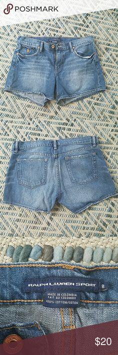 Ralph Lauren Shorts Ralph Lauren denim shorts, in great condition. Ralph Lauren RRL Shorts Jean Shorts