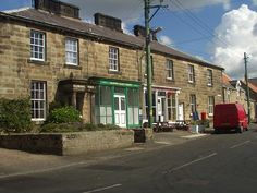 Glanton, a 2 mile bike ride away from the cottage