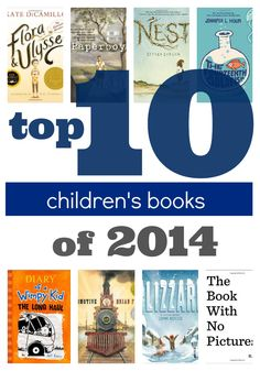 Check out our top 10 kids' books of 2014 in our #RaiseaReader blog.