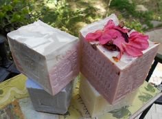 4 Soaps gift for mother's day - #natural #soaps #mothersday