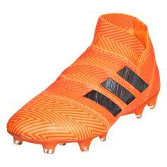 promo code e1996 06673 adidas Nemeziz 18+ FG Soccer Cleat ZestCore BlackSolar Red-12.5