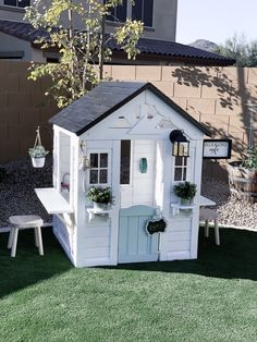 This playhouse hack was one of my favorite projects that we have done. It took us a while to finish it because of the holidays and birthdays, but we finally got it done! We purchased this Backyard …