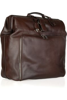 7cb72f81bdf92 Leather weekend bag by Jil Sander Leather Office Bags