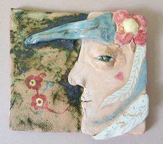 """Keramický kachel - profil """"Jara"""". Práce mladších školáků našeho výtvarného studia. Studios, Painting, Art, Art Background, Painting Art, Kunst, Paintings, Performing Arts, Painted Canvas"""