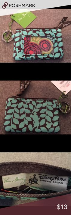 Vera Bradley Disney Perfect Petals Zip ID Case NEW Brand new with tags Disney Perfect Petals Zip ID case. Disney Parks exclusive! Multiple available, photos are representative of the item, same fabric exact positioning of pattern may differ slightly. From a pet-free/smoke-free home.  Thanks for looking! Vera Bradley Bags Wallets