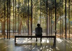 Aidlin Darling uses rammed earth for Stanford meditation centre