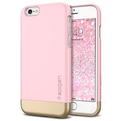 iPhone 6 Case, Spigen® [Safe Slide] iPhone 6 (4.7) Case Protective [Style Armor] [Sherbet Pink] SOFT-Interior Scratch Protection Metallic Finished Base with Dual Layer Protection Slim Trendy Hard Case for iPhone 6 (4.7) (2014) - Sherbet Pink (SGP11044) Spigen http://www.amazon.com/dp/B00LL6979C/ref=cm_sw_r_pi_dp_QcwOub1N7303P