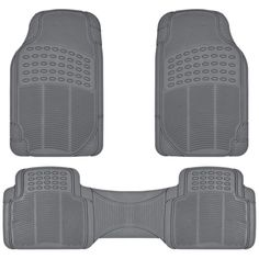 ProLiner Gray All Weather Rubber Auto Floor Mats Liner Heavy Duty Set -- More info could be found at the image url. (This is an affiliate link) Rubber Floor Mats, Rubber Flooring, Interior Accessories, Car Accessories, Best Car Floor Mats, Chrysler Cirrus, Weather Fronts, Cool Cat Trees, Best Amazon Products