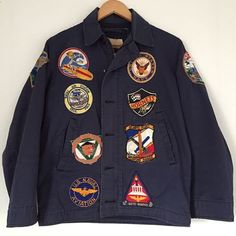 Nam era USN N-4 deck jacket - Tonkin Gulf Yacht Club #vintage #vietnam #usnavy #n4 #deckjacket #tonkingulfyachtclub