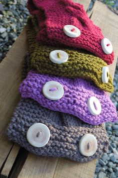 Hand Knit Cowl Scarves - Knitnations Etsy
