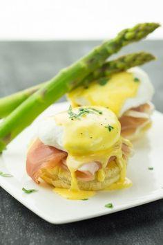 Prosciutto Eggs Benedict