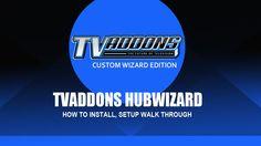 TVAddons HubWizard for Kodi 101