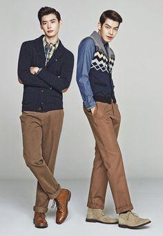Lee Jong Suk & Kim Woo Bin Trugen's Fall-Winter 2013 Ads