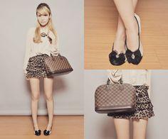 Tricia Gosingtian Moda Estilo Pessoal calçado Flats