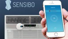 Sensibo convierte un aire acondicionado en inteligente