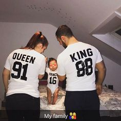 Posts about DIY written by CT Chan, aninspiring editors, Louisa, and Alexandra Matching Couple Outfits, Matching Couples, Couple Shirts, Family Shirts, Cute Family Pictures, Family Photos, Newborn Baby Photography, Family Photography, Mom Dad Baby