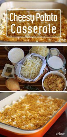 Gooey, cheesy potato casserole -- it's a classic comfort food. And ...