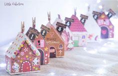 Notre calendrier de l'avent fait maison astucieux #Noel Homemade #advent #calendar for #Christmas