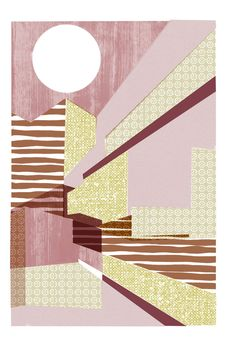 'Architectural abstract with sun' by Ben Phe