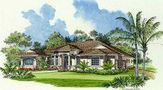 Mediterranean House Plan 55733