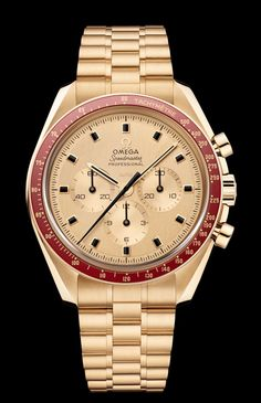 TimeZone : Industry News Omega Speedmaster Gold, Omega Seamaster Diver 300m, Seamaster 300, Big Watches, Cool Watches, Watches For Men, Patek Philippe, Tag Heuer, Devon