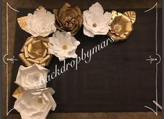 """43 Likes, 1 Comments - Maricar (@backdropbymars) on Instagram: """"For custom made orders, please email me at backdropbymars@gmail.com #flowers #paperflower…"""""""