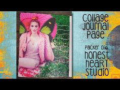#lovesummerart - Eternal Summer collage journal page - YouTube