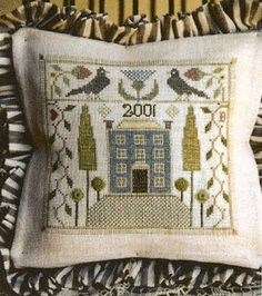 """Thistle House"" by Ewe & Eye & Friends I probably have 99% of their designs. This one included."