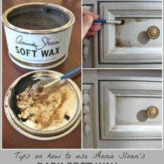 Chalk Paint® Dresser Makeover (Part 2 Using Wax)