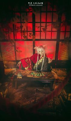 LALAax(LALA二世) Tomoe Cosplay Photo - WorldCosplay