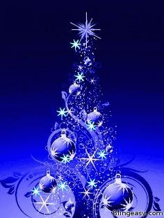 Stunning image - - from the clip art category animated Christmas Cards gifs & images! Christmas Tree Gif, Cat Christmas Cards, Christmas Scenery, Christmas Card Pictures, Blue Christmas, Christmas Pictures, Christmas Greetings, Beautiful Christmas, Christmas Lights