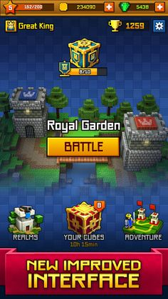 Do you need additional Unlimited Gems, Unlimited Coins? Try the newest online cheat tool. Hack Craft Royale Clash of Pixels directly from your browser. Coin Crafts, Gem Crafts, Royal Garden, Great King, Free Gems, Clash Royale, Hack Tool, Cheating, Coins