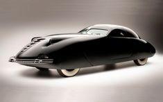 1938 Phantom Corsair. Designers:Rust Heinz and Maurice Schwartz.