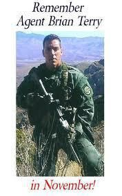If you don't know who Brian Terry was, he was a U.S. border agent protecting our borders. He was murdered by a Fast & Furious gun supplied by the Obama administration to Mexican drug cartels.