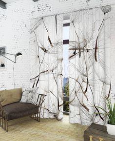 """Комплект штор """"Делеао"""": купить комплект штор в интернет-магазине ТОМДОМ #томдом #curtains #шторы #interior #дизайнинтерьера"""
