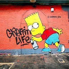 Graffiti Life Street Art In London, UK