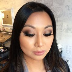 """Embrace the #Neutrals trend and try this #NudeTude #eyeshadow combination on for size! #theBalm National #MakeupArtist Keira Rowland created this #smokyeye look on a client at our #SF Flagship Boutique using 1⃣ """"Seductive"""" on the lid 2⃣ """"Sultry"""" in the crease 3⃣ """"Silly"""" and """"Sleek"""" in the outer crease...have you stopped by for your makeover yet, #BayArea Balm Squad? :)  #theBalmCosmetics #SanFrancisco #SFStyle #Beauty #Eyes #Brows #Lashes #MakeupIdeas #MOTD #Padgram"""