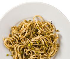 Pasta with Pistachio Pesto