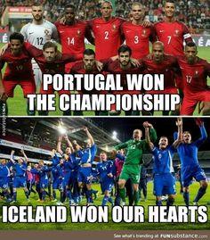 Congratulations to both teams!