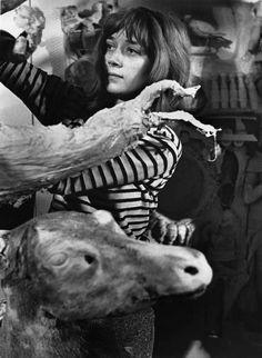 * Niki de Saint Phalle (1930-2002), Paris 1962 - photo CHR Strömholm